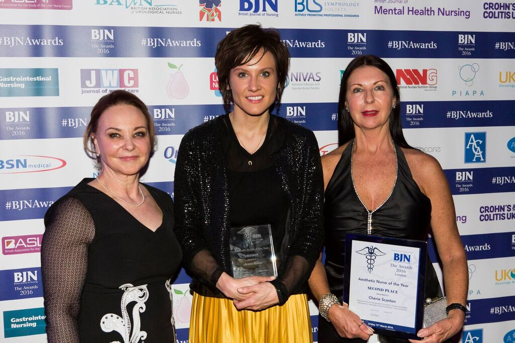 BJN Aesthetic Nurse of the Year 2016 Finalist!